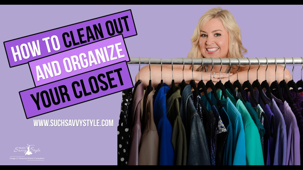 How to clean out your closet Spring 2020