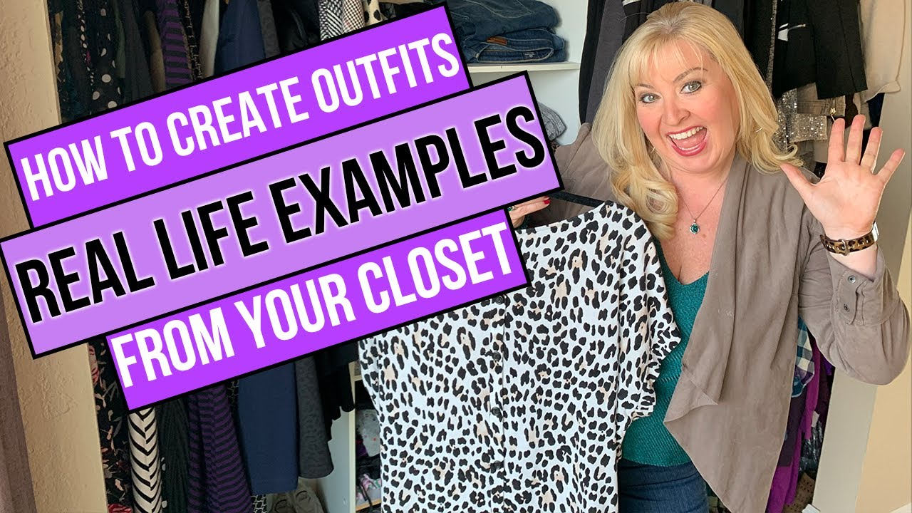 How To Create Outfits From Your Closet 101