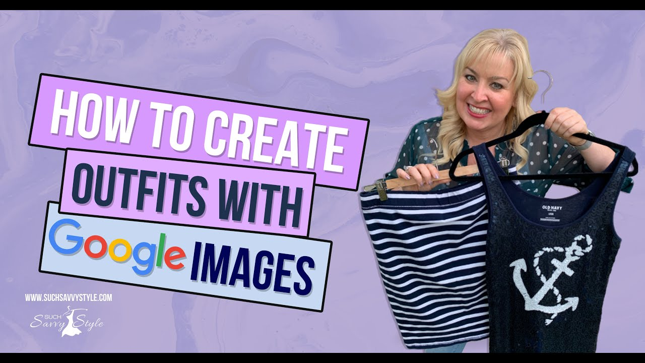 Shop your closet to create new outfits using Google images