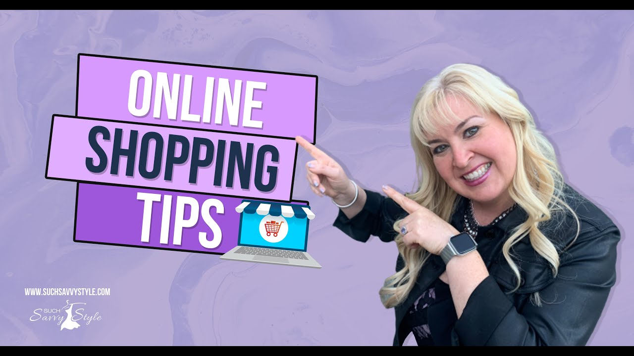 Tips online shopping from a personal shopper