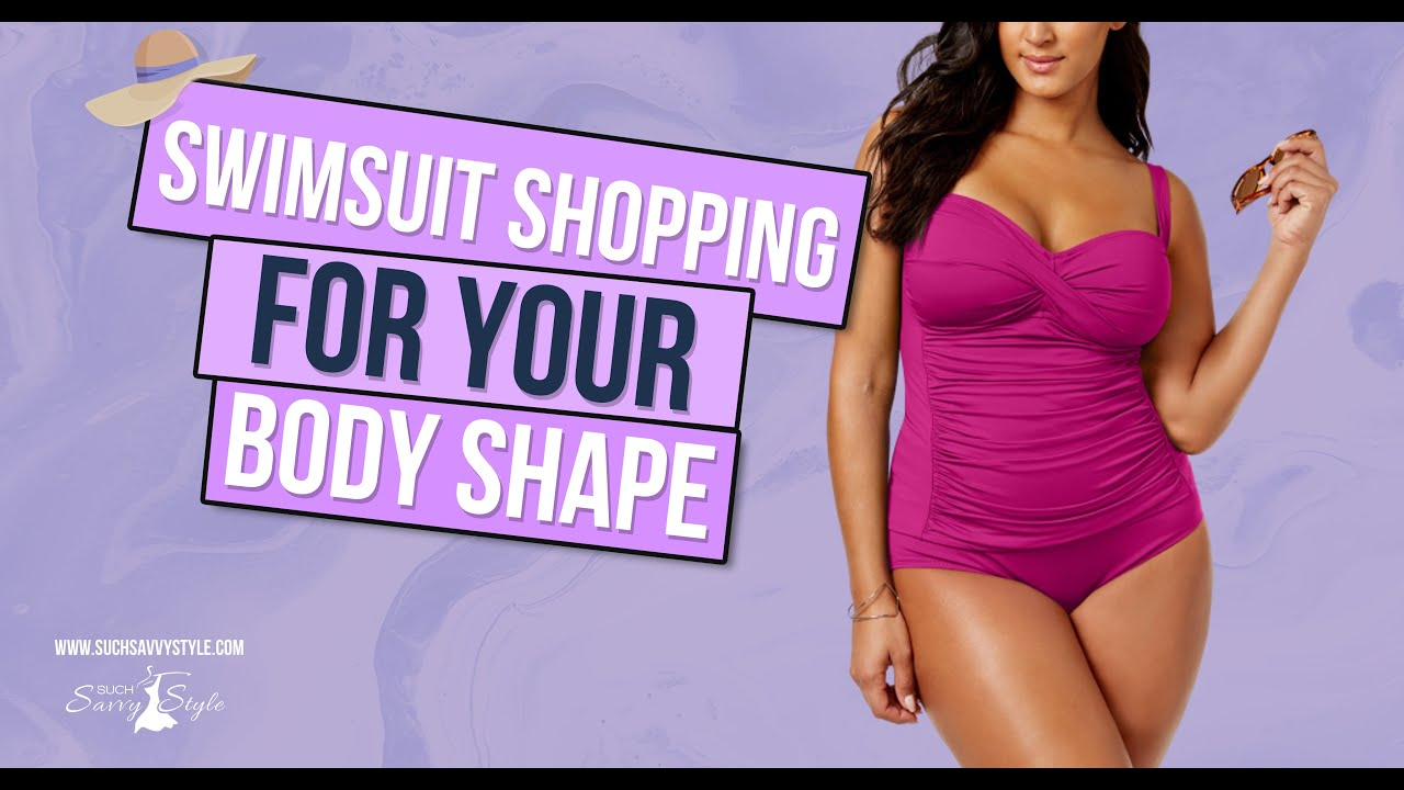 Swimsuit shopping for your body shape – real life examples