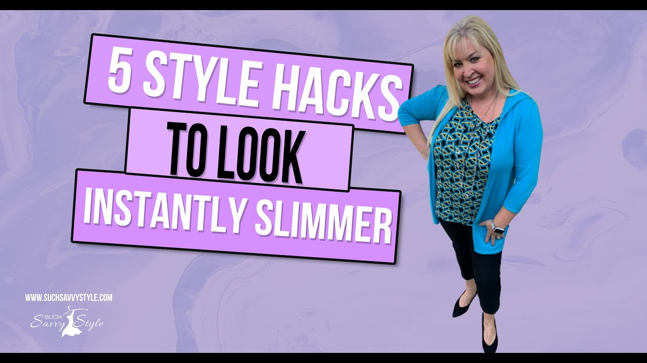5 Style Hacks to Look Instantly Slimmer
